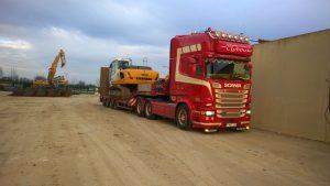vervoer vrachtwagen